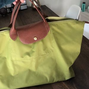 Longchamp large travel bag